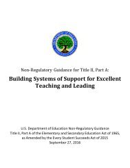 Building Systems of Support for Excellent Teaching and Leading