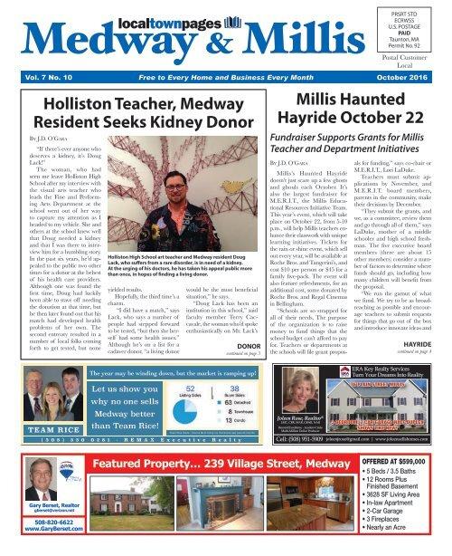 Medway/Millis October 2016