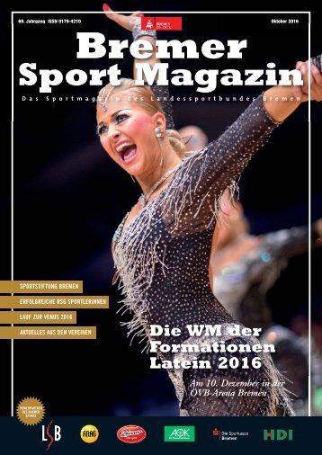 BREMER SPORT Magazin | Oktober 2016