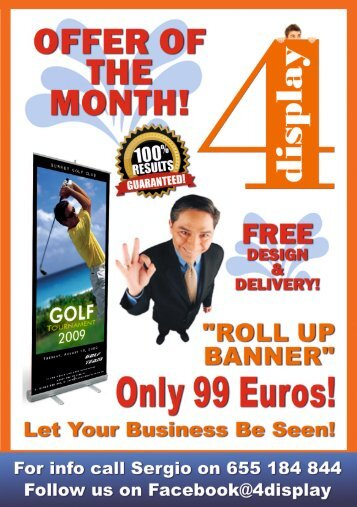Roll up Banner 2016