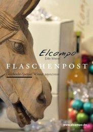 Elcampo Wein Flaschenpost Geschenke Spezial