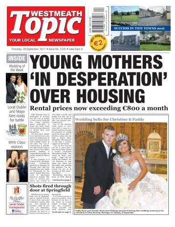 Westmeath Topic - 29 September 2016