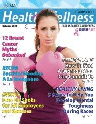 Nyrstar Clarksville Health & Wellness Magazine - Issue 10, October 2016