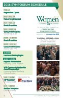 Your Guide to the 11th Annual WLP Fall Symposium - Page 2