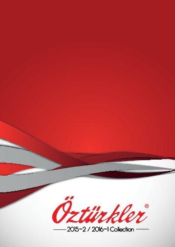 Ozturkler 2015 Katalog