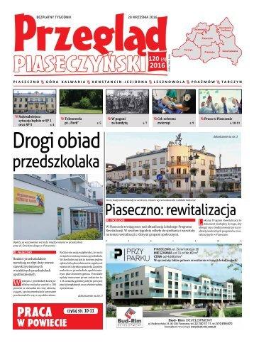 Przegląd Piaseczyński, Wydanie 120