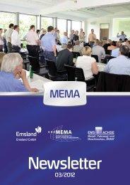 MEMA-Newsletter 3/2012 - Landkreis Emsland