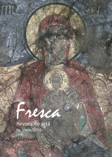 Revista Fresca nr1 - mai 2015