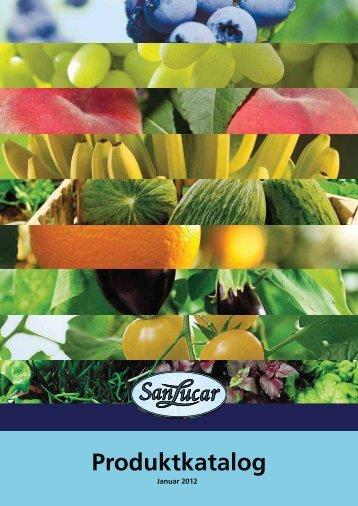 Produktkatalog - SanLucar