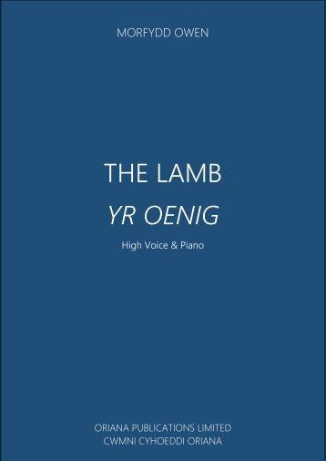 MORFYDD OWEN - The Lamb - [Digital Download]