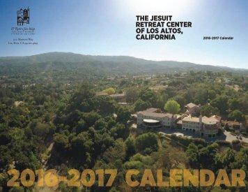 2016-2017 Calendar