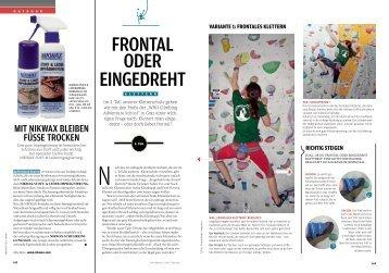 frontales klettern - Sport10