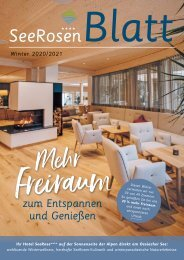 SeeRosenBlatt Winter 2018/2019