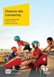 Chancen des Carsharing