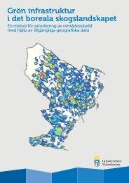 Grön infrastruktur i det boreala skogslandskapet