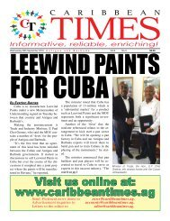 Caribbean Times 3rd Issue - Wednesday 28th September 2016
