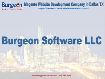 Magento Website Development Company in Dallas TX