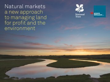 Natural markets a new approach to managing land for profit and the environment