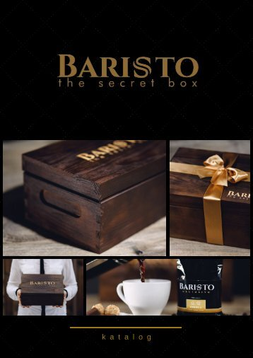 Baristo The Secret Box  Nowy Katalog