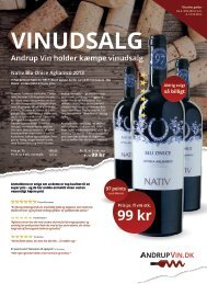 Andrup vin Katalog