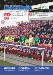 neunzehn54, Doppelausgabe Sportfreunde Siegen - RW Oberhausen. Heft 6, Saison 2016/17