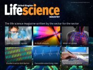The life science magazine written by the sector for the sector