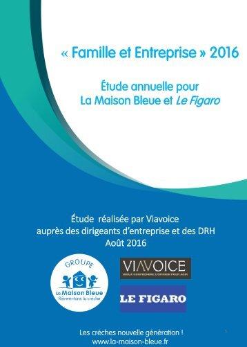« Famille et Entreprise » 2016