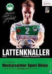 Lattenknaller 01 - 18.09.2016 - Saison 2016/17 - FRISCH AUF Frauen