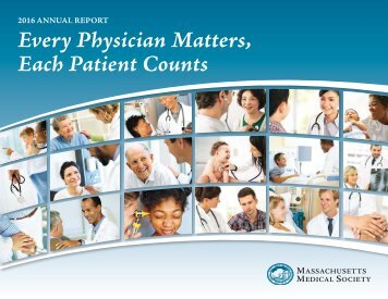 Every Physician Matters Each Patient Counts