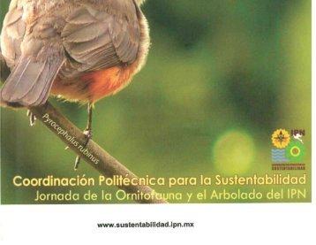 Las aves del IPN, Compendio. 2013