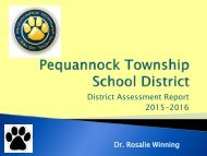 District Assessment Report 2015-2016