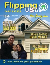 Flipping USA AUG 2016 New Jersey Edition