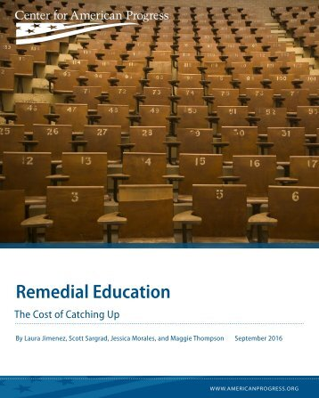 Remedial Education