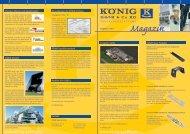 Kundenzeitung Oktober 2011 - KÖNIG GmbH & Co KG
