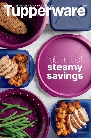 steamy savings