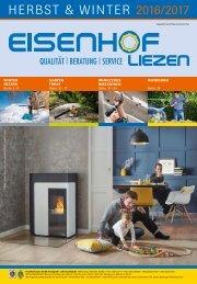 Produktkatalog Eisenhof Liezen Herbst/Winter 2016/17