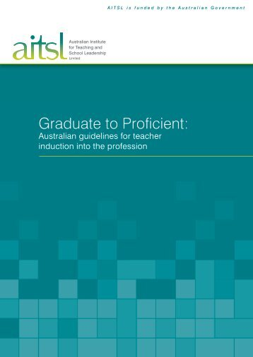Graduate to Proficient