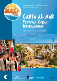 Calella 2016 - Program Book