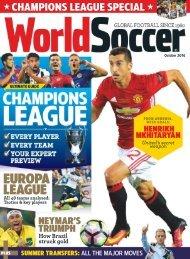 World Soccer - October 2016