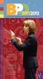 S A V E 3 0 - The Buffalo Philharmonic Orchestra