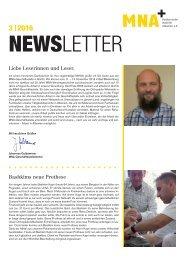 MNA Newsletter September 2016
