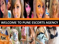 Get Touch with Pune Erotic Models