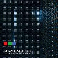 Screentech Brochure
