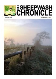 Sheepwash Chronicle Autumn 2016 edition