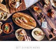 SBH & FINNS_SET DINNER MENU