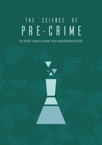 The secret 'radicalisation' study underpinning PREVENT 1