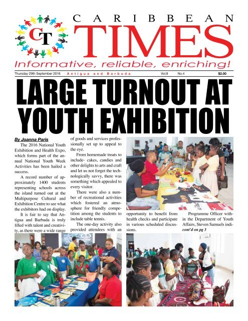 Caribbean Times 4th Issue - Thursday 29th September 2016