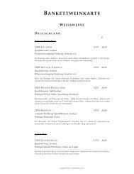 bankettweinkarte weissweine