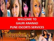 More Erotic Fun In Pune- Gauri Anand Pune escorts Services