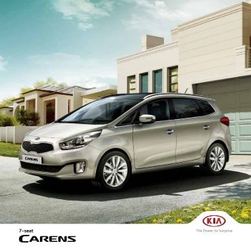 Kia Carens Brochure 2016